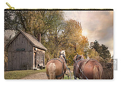Carry-all Pouch featuring the photograph Blacksmith Bound by Robin-Lee Vieira