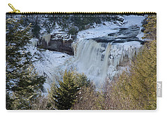 Blackwater Falls In Winter Carry-all Pouch