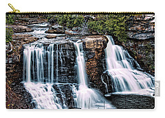 Blackwater Falls, West Virginia Carry-all Pouch by Skip Tribby