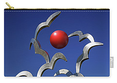Carry-all Pouch featuring the photograph Blades And Ball by Christopher McKenzie