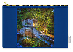 Blakes Pond House Carry-all Pouch by Thom Zehrfeld