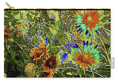 Blanket Flower II Carry-all Pouch