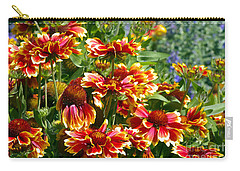 Blanket Flowers Carry-all Pouch by Sharon Talson