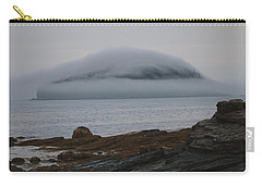 Carry-all Pouch featuring the photograph Blanket Of Fog by Living Color Photography Lorraine Lynch