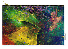 Carry-all Pouch featuring the digital art Blanket Of Stars by Klara Acel