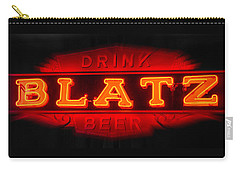 Blatz Beer  Carry-all Pouch by Susan  McMenamin