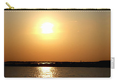 Carry-all Pouch featuring the photograph Blaze Of Glory by Debra Forand