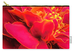 Blazing Pink Marigold Carry-all Pouch