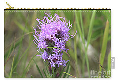 Carry-all Pouch featuring the photograph Blazing Star by Ann E Robson