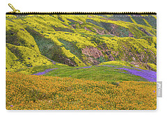 Blazing Star On Temblor Range Carry-all Pouch