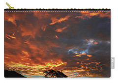 Blazing Sunrise Carry-all Pouch