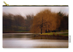 Carry-all Pouch featuring the photograph Blazing Zoom by Richard Ricci