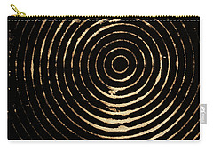 Bleached Circles Carry-all Pouch by Cynthia Powell