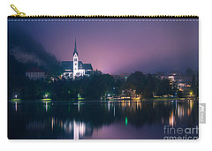 Carry-all Pouch featuring the photograph Bled Slovenia 2 by Mariusz Czajkowski