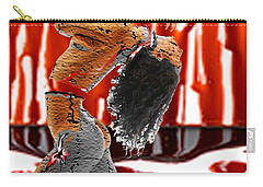 Bleed 4 Me Carry-all Pouch by Tbone Oliver