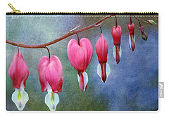 Carry-all Pouch featuring the photograph Bleeding Heart 2 by Marilyn Hunt