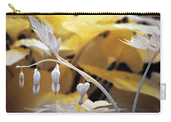 Bleeding Heart Gld Carry-all Pouch
