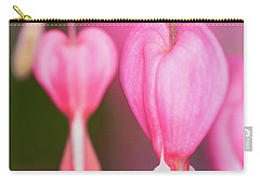 Bleeding Hearts Flowers Carry-all Pouch