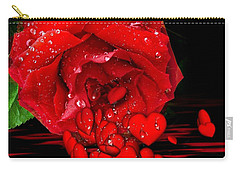 Bleeding Love Carry-all Pouch