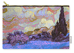 Blend 20 Van Gogh Carry-all Pouch by David Bridburg