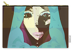 Blessed 2 Carry-all Pouch by Ann Calvo