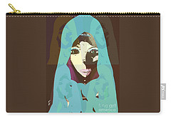 Carry-all Pouch featuring the mixed media Blessed 2 by Ann Calvo