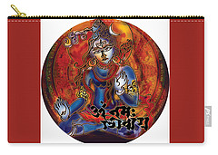 Blessing Shiva Carry-all Pouch