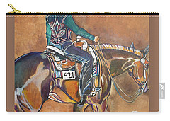 Bling My Ride Carry-all Pouch by Stephanie Come-Ryker