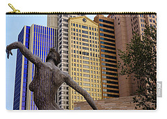 Carry-all Pouch featuring the photograph Nyny Dance by Glenn DiPaola