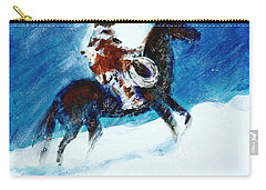 Blizzard Moon-the Last Stray Carry-all Pouch