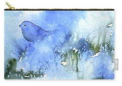 Bluebird Carry-all Pouch