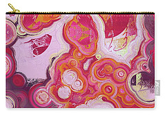 Carry-all Pouch featuring the digital art Blobs - 03v2c7b by Variance Collections