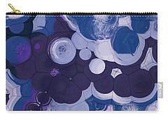 Carry-all Pouch featuring the digital art Blobs - 11c2b by Variance Collections