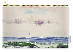 Block Island Sound Carry-all Pouch by Joan Hartenstein
