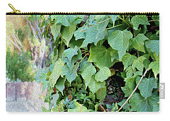 Block Of Ivy Carry-all Pouch