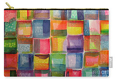 Blocks II Carry-all Pouch by Holly York