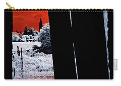 Blood And Moon Carry-all Pouch by Helga Novelli