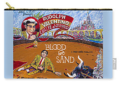 Blood And Sand - 1922 Lobby Card That Never Was Carry-all Pouch
