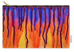 Carry-all Pouch featuring the photograph Blood Dawn  by Ken Frischkorn