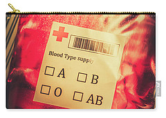 Blood Donation Bag Carry-all Pouch