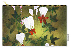 Blood Flower Carry-all Pouch by Tbone Oliver