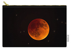 Blood Moon Lunar Eclipse 2015 Carry-all Pouch
