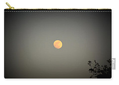 Blood Moon Carry-all Pouch by Nature Macabre Photography