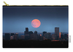 Blood Moon Over Denver Carry-all Pouch