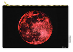 Blood Red Moonscape 3644b Carry-all Pouch