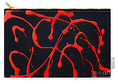 Blood Red Carry-all Pouch