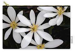 Sanguinaria Carry-all Pouch by Skip Tribby