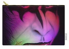 Carry-all Pouch featuring the painting Bloody Demon by Kevin Caudill