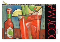 Bloody Mary Poster Carry-all Pouch by Tim Nyberg