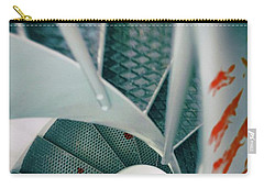 Carry-all Pouch featuring the photograph Bloody Stairway by Carlos Caetano